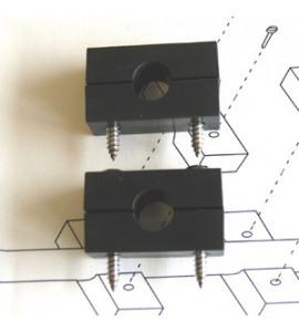 Kit di fissaggio trasduttore stazione del vento