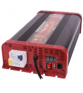 Inverter Pro Power 24v 1600W con interruttore salvavita