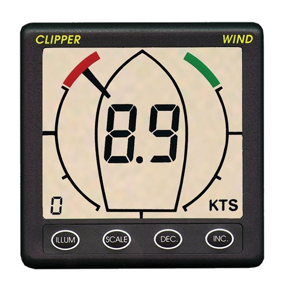 Clipper Wind Master Display