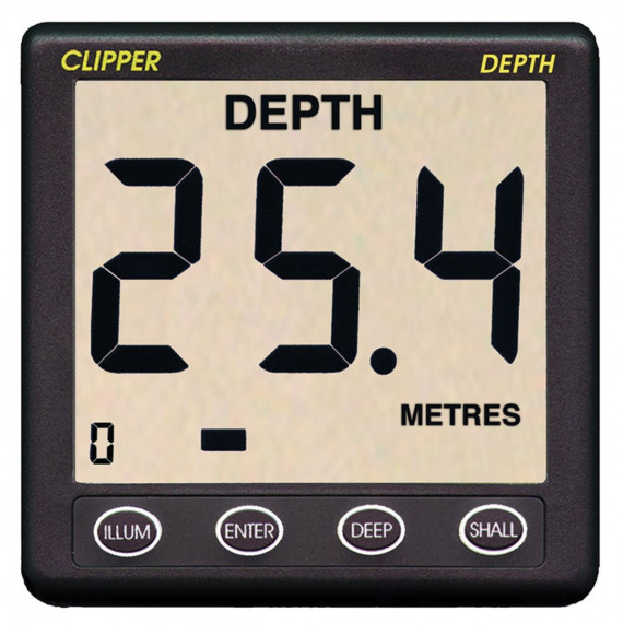 Clipper Depth Master Display