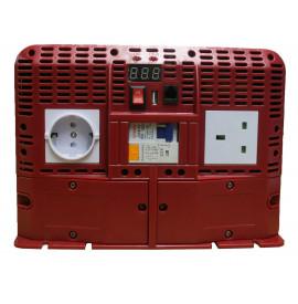 Inverter Pro Power 24V 2500W con interruttore salvavita