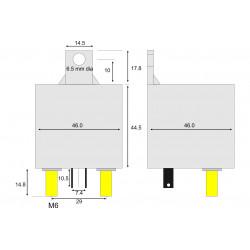 Relè monostabile 12V 120A